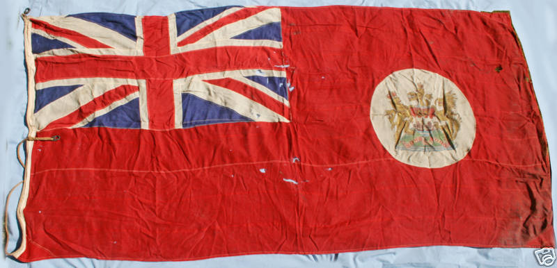 [Colonial red ensign of Hong Kong]