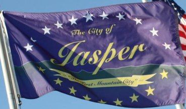[Flag of Jasper, Georgia]