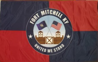 [Flag of Fort Mitchell, Kentucky]