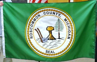 [Flag of the Roscommon County, Michigan]