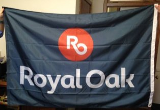 [Flag of Royal Oak, Michigan]