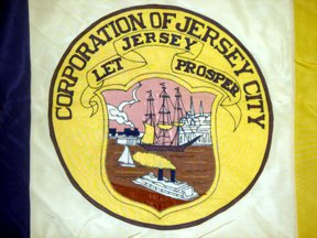 [Detail of Flag of Jersey City, New Jersey]