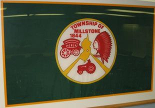 [Flag of Millstone Township, New Jersey]