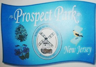 [Flag of Prospect Park, New Jersey]